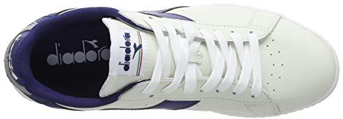 Pulviscolo Bianco Diadora Low C7918 gr blu bco L Game Crepuscolo Bxwtfq8