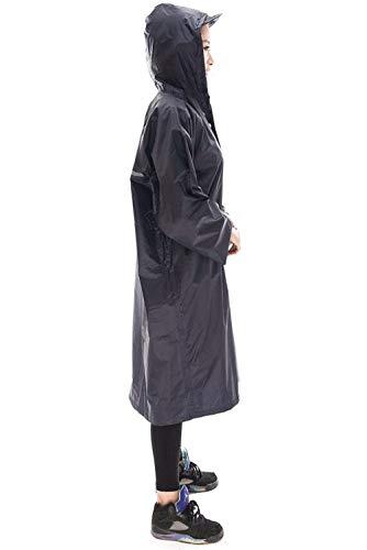 Impermeabile Impermeabile Uomo Donne Rain Casuale Trench Donna Jacket Jacket Jacket Impermeabile Rainwear E Moda Adult Poncho 1 Outdoor wxppaqF1Zf