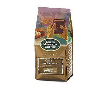 Green Mountain Caramel Vanilla Cream Ground Coffee (Pack of 2)