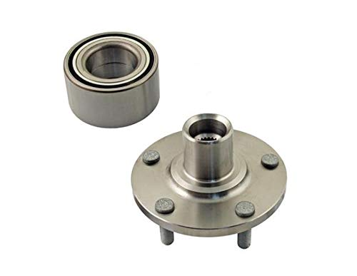 DTA Front Wheel Hub Wheel Bearing Repair Kit Left or Right Fits 2012-2018 Ford Focus, C-Max. Replaces Hub81, 510110