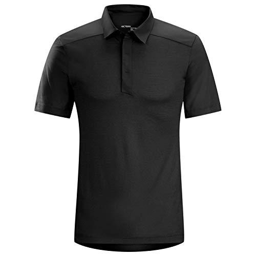 Arcteryx A2B Polo Shirt - Men's Black Small