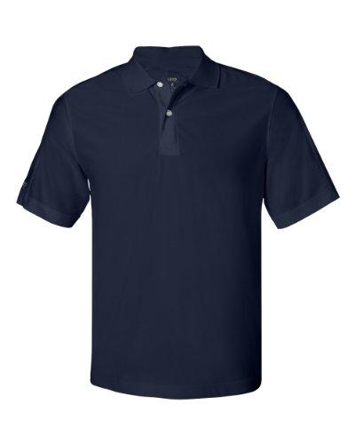 Izod Men's Performance Golf Piqu' Polo - NAVY - M