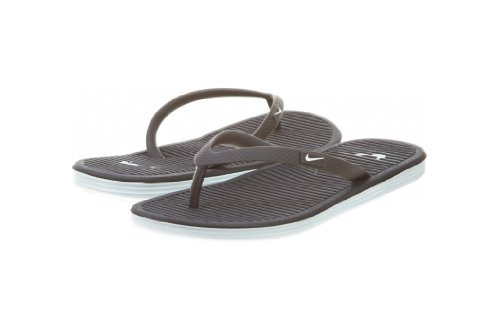 Nike Solarsoft Thong II Sandals Black 488161 019 Pool Shoes Antracite