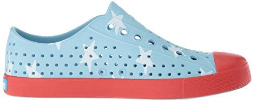 Jefferson Women's Big Native Torch Red Sky Blue Sneaker Star Fashion 4aqqw5xH
