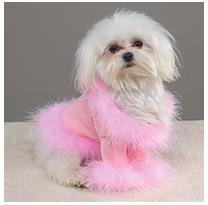 Dog Sweater - Puttin' on the Glitz - Pink - XX-Small (XXS)