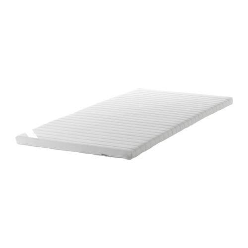 Dekmatras Ikea 160 X 200.Ikea Sultan Tjome Mattress Topper White 160x200 Cm