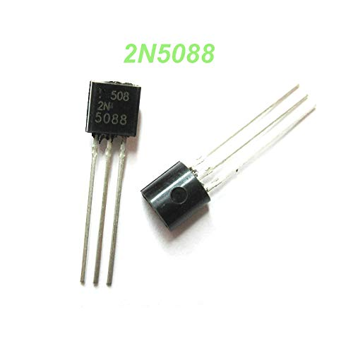 BJT New Original 100pcs 2N5088 5088 TO-92 NPN Gen Pur SS Bipolar Transistors