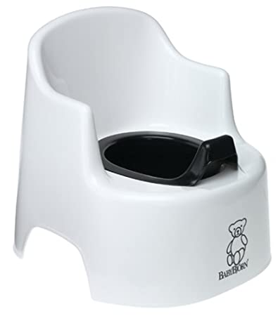 Baby Bjorn® Large Potty Chair White  sc 1 st  Amazon.com & Amazon.com : Baby Bjorn® Large Potty Chair White : Toilet Training ...