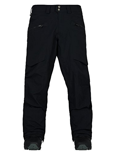 (Burton Men's AK 3L Hover Pants, True Black,)