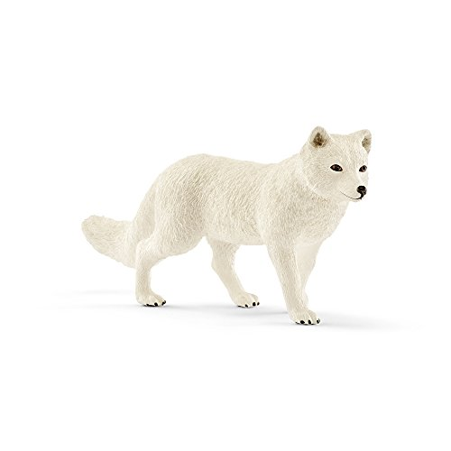 Fox Animal Figurine - Schleich Arctic Fox Toy Figurine