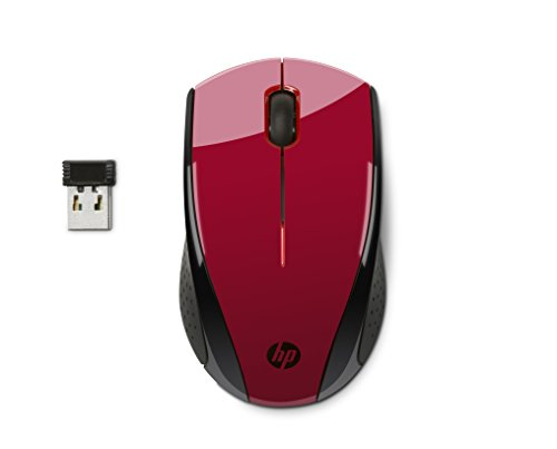 Picture of a HP X3000 Wireless Mouse Red 77347970662,888793724743,888793724781,7038557082883