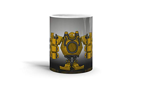 Ceramic Coffee Mug Gamer Video Game Cup I Come To Grab A Fanart From League Of Legends Charact Gaming Computer Drinkware Super White Mugs Family Gift Cups 11oz 325ml ()