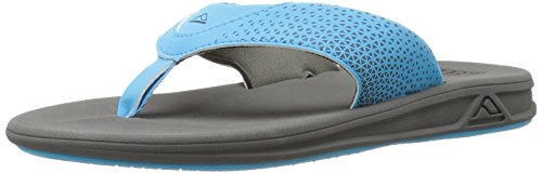 Reef Grom Rover, Tongs Garçons, Multicolore (Grey/Blue), 19.5 EU