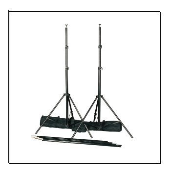 CowboyStudio Photography 12 ft Heavy Duty Crossbar Studio Portable Background Support System and Carry Case - 9113