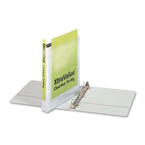 Vinyl Clearvue Xtravalue D-Ring Presentation Binder Color: (Clearvue Xtravalue D-ring Presentation Binder)
