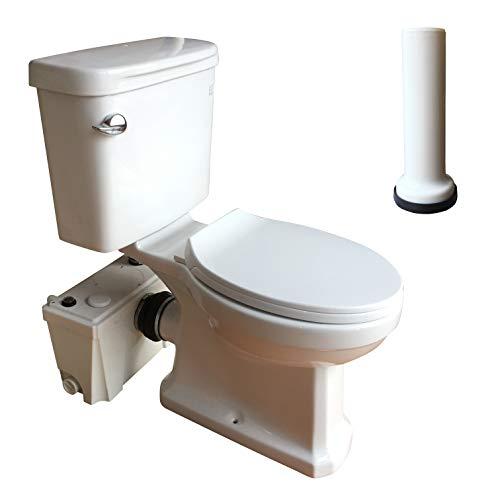 500 Watt Upflush Macerating Toilet with Macerator Pump