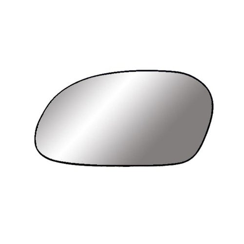 Fit System 88169 Driver Side Non-heated Replacement Mirror Glass with Backing Plate (Driver Side Mirror Ford Taurus)