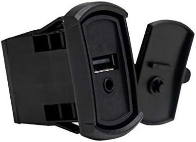 MBクオートメディアエクステンション - PSAP-2Sデュアルアクセサリープラグ - AUXからRCAへ USBポート プラグアンドプレイ