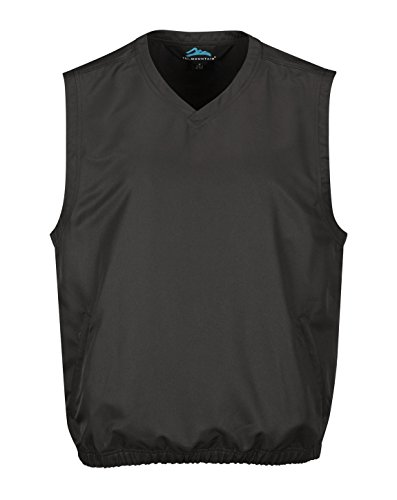 Tri Mountain Big and Tall Windproof Water-Resistant Vest. J2612 Legend