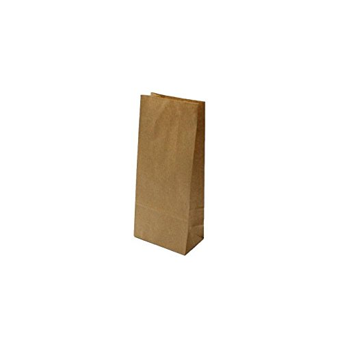 Lot de 50 sacs SOS kraft brun 18x11x35cm 5998