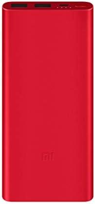 Mi 10000mAH Li-Polymer Power Bank 2i (Red) with 18W Fast Charging