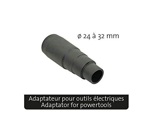 Peugeot Outillage 100901 ENERGYCLEAN-20L Aspirateur /à d/écolmatage pour salissures s/èches Gris