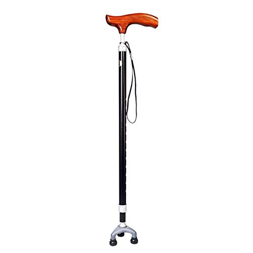 SIECPC Walking Canes Walking Stick for Men or Women Lightweight Walking Canes with Wooden Handle 10 Adjustable Height Load Bearing 150kg Crutches Arthritis Seniors Mobility Cane (Used Sugar Cane Harvesting Equipment For Sale)