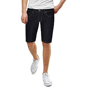 Men's Super Comfy Stretch Fit Denim Shorts