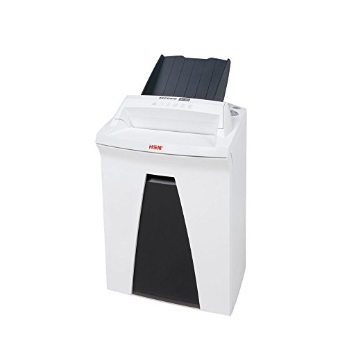 HSM SECURIO AF150 L4 Micro-cut Shredder with automatic paper feed; shreds up to 150 automatically/13 manually; 9 gallon capacity