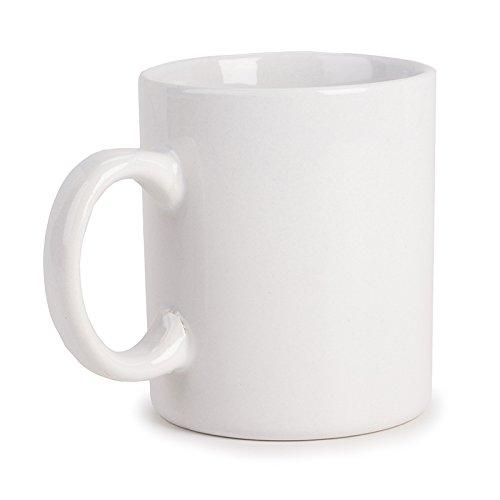 - Darice 20 oz Coffee Mug, White (2453-25)