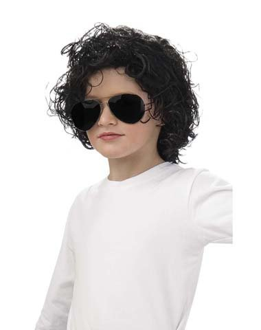 Michael Jackson Curly Wig (Child) - Michael Jackson Curly Kids Wig