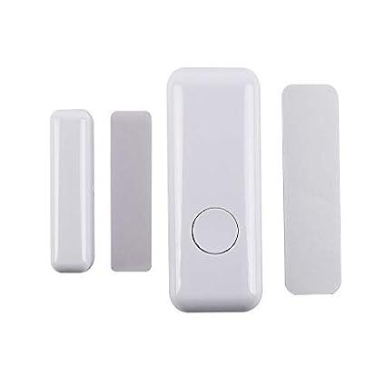Alarma de sensor de apertura de puerta inalámbrica】Detector ...