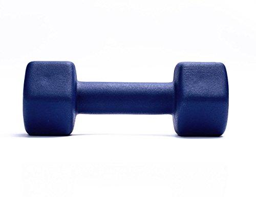 Fitness Alley Neoprene Coated Dumbbells Set (Hex Hand Weights)
