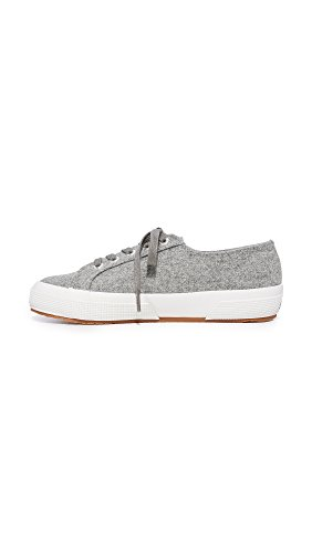 Grey Women's Sneaker Woolmelw Superga Fashion Light 2750 wYn8IFIx