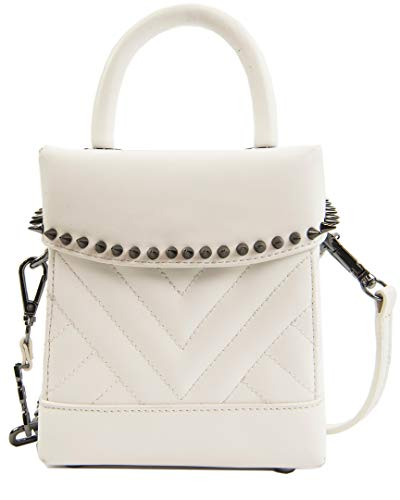 - Sam Edelman Charlie Quilted Box, White