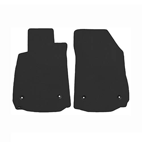 - Brightt (MAT-JYX-856) 2 Pc Front Floor Mats - Smoke Classic Carpet - compatible for 1972-1976 Ford Torino 4 Door (1972 1973 1974 1975 1976 | 72 73 74 75 76)