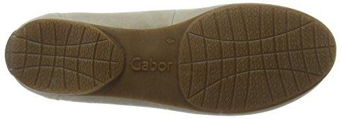 Gabor Columbia - Mocasines Mujer Beige - Beige (Stone Used Nubuck)