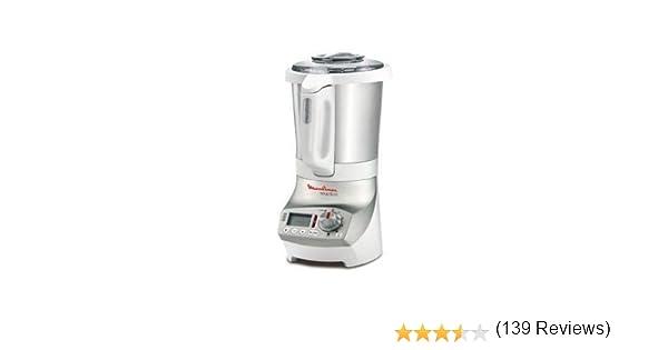 Moulinex Soup & Co Batidora de vaso 1.8L 1100W Plata, Color blanco ...