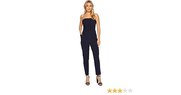 163a2ab33922 Amazon.com  Adelyn Rae Women s Malia Jumpsuit Navy Large  Clothing