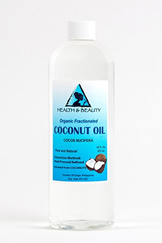 Coconut Oil Fractionated MCT Organic Carrier Ultra Refined P