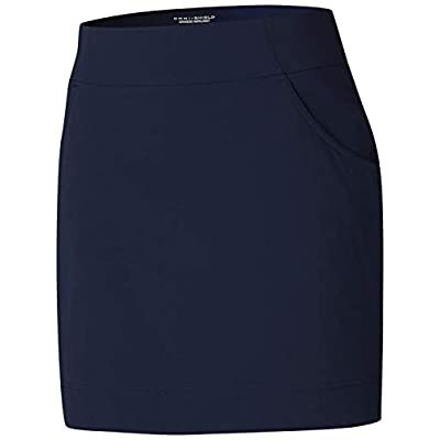 Columbia Women's Anytime Casual Stretch Skort, Water & Stain Resistant, Sun Protection at Women's Clothing store