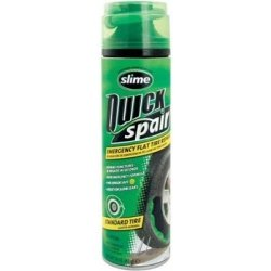 Slime Quick Spair, 16 oz Can, Emergency Flat Tire Repair, Seals and Inflates, TPMS Safe, Case of 6 Tools Equipment Hand Tools