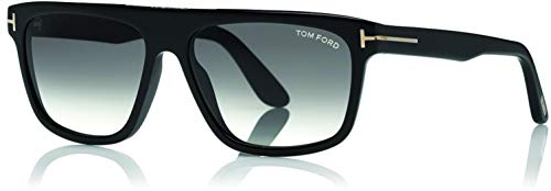 Sunglasses Tom Ford FT 0628 Cecilio- 02 01B shiny black/gradient ()