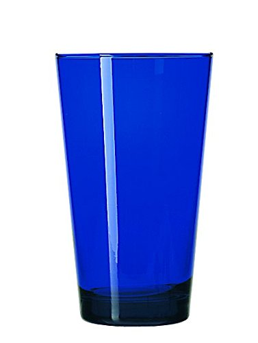 Libbey Glassware 171B Cooler, Cobalt Blue, 17 oz. (Pack of 12) (Libbey Tumbler Glass)