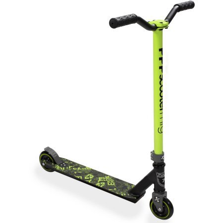 Pulse Performance Burner Pro Freestyle Scooter, Green