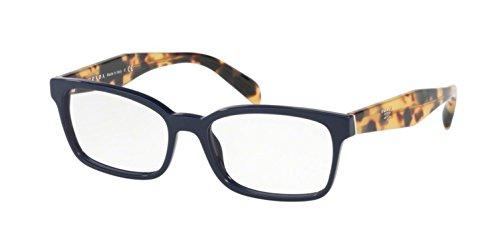 Prada Women's PR 18TV Eyeglasses Blue - Blue Glasses Prada
