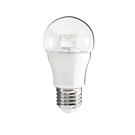 lineteckled® a03.012.05 C Bombilla LED a bulbo transparente con casquillo E27 5 W luz cálida 3000 K 230 V - Alta luminosidad.: Amazon.es: Iluminación