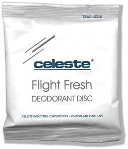Celeste Flight Fresh Deodorant Disc 25 Pack Fresh Breeze