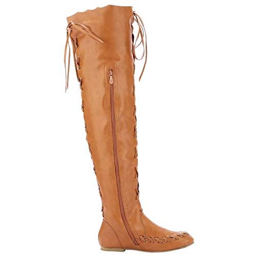 Women's Classic Boot Classic AIYOUMEI Boot AIYOUMEI Women's Brown qwROaO