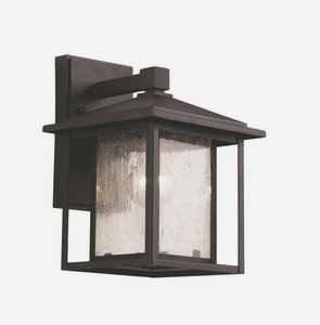 Trans Globe Lighting 40360 BK Outdoor Grove 11.5'' Wall Lantern, Black by Trans Globe Lighting